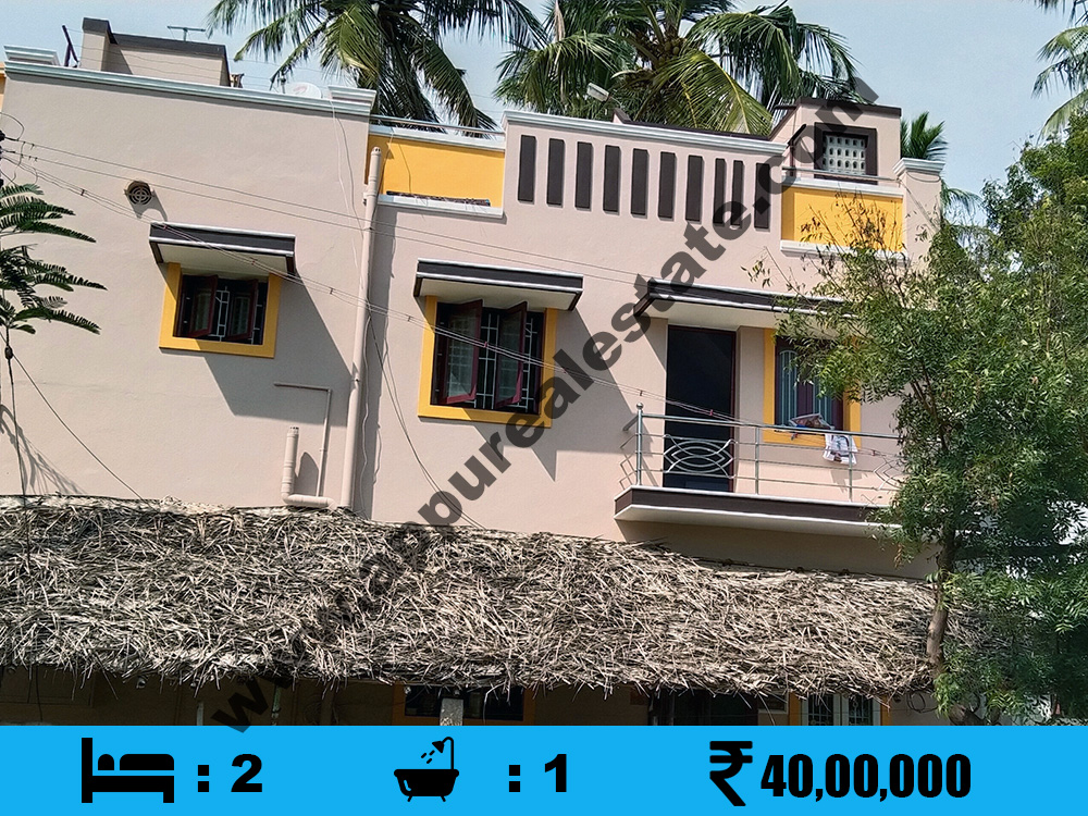 2 BHK Used House for sale in Srirangam, Trichy