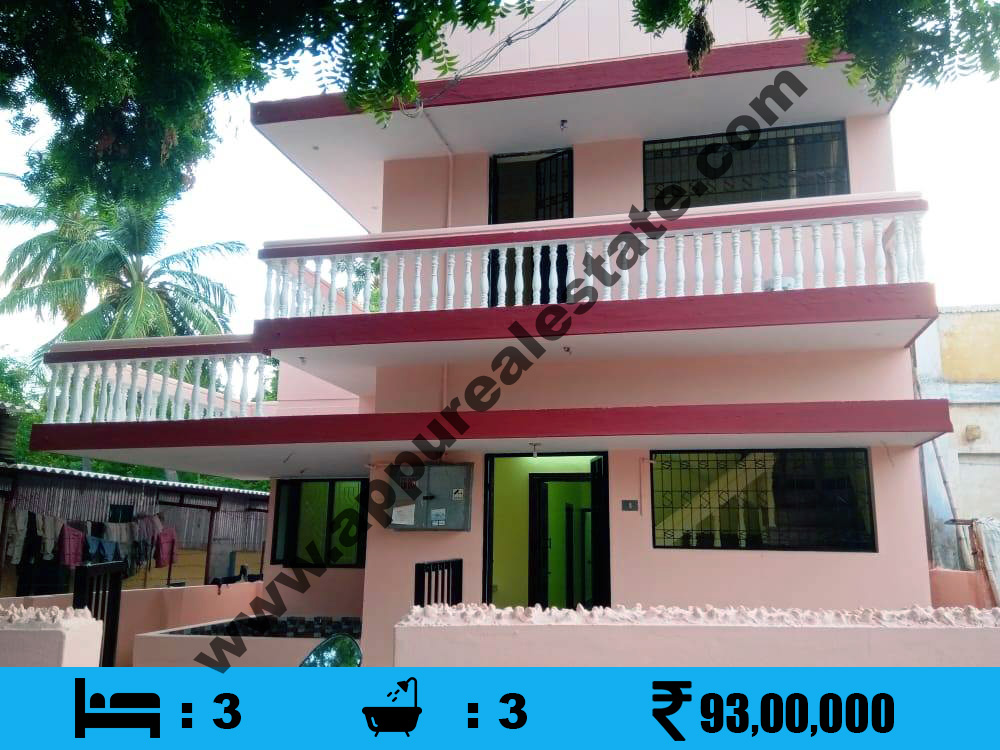 3 BHK House for sale in Srirangam, Trichy
