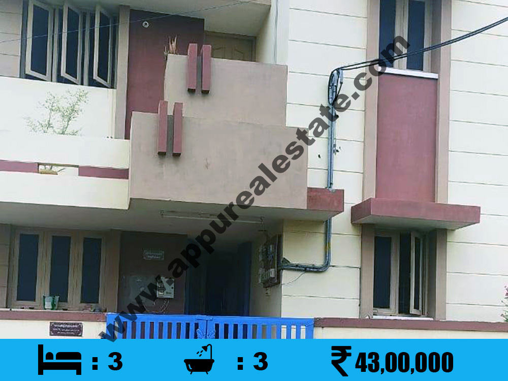 3 BHK Used House for sale in Trichy