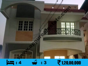 New 4 BHK House for sale in Trichy, KK Nagar