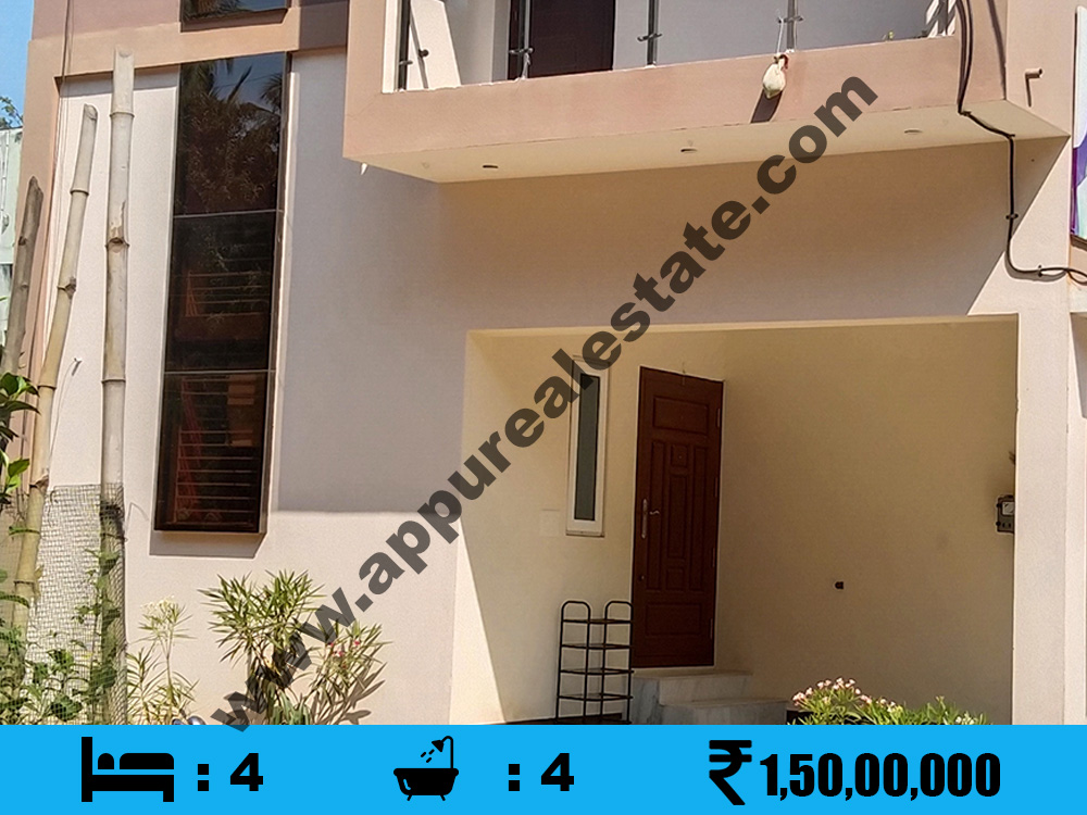 4 BHK House for sale in Trichy, Srirangam
