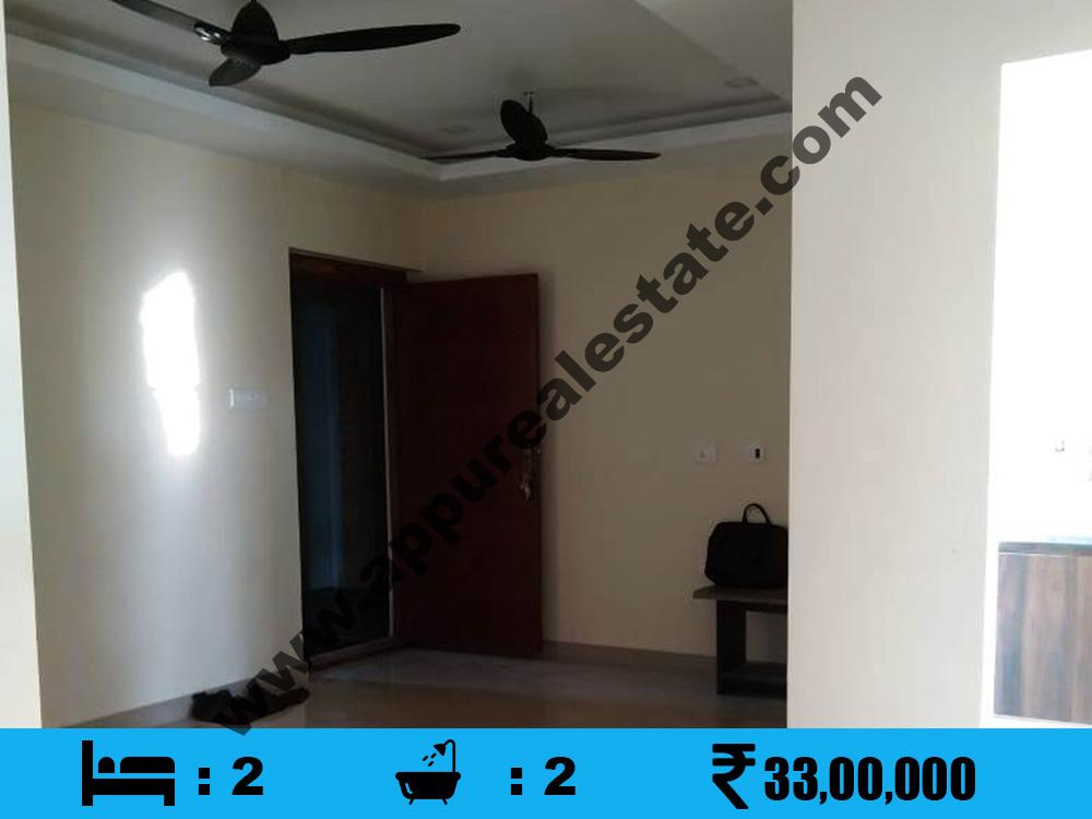 2 BHK Apartment for Sale in KK Nagar near to Simco Meter